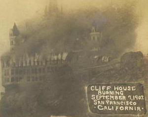 The 'Cliff House' was rebuilt.