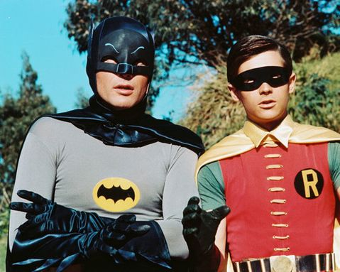 'BLEND IN ROBIN..  'YOU KNOW IT BATMAN'..  Picture from Inet