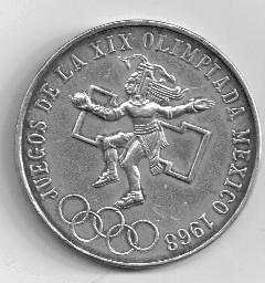 1969 Mexican Olympics Proof