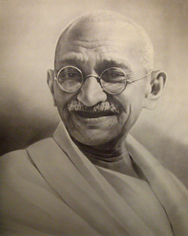 GANDHI MAN OF LOGIC AND PEACE.. HIS ENERGY RESPECTED?  WHERE HE ALIVE HE MAY WELL UTTER.. 'HOW SO?'.